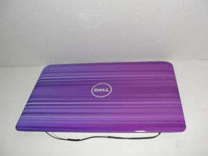 Designer Dell Inspiron Mini 10 1012 LCD Cover 9PYC7 Purple Stripes