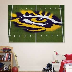 LSU Fathead Wall Graphic   Eye of the Tiger Mural Sports