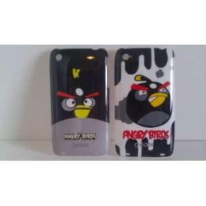 Angry Birds   Black Bird Bomber COMBO   Hard Case for iPhone 3 3g 3gs