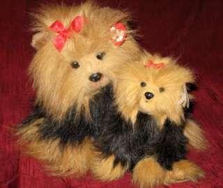 TY Retired Yappy Yapper Mommy Baby Dog Puppy Yorkie Yorkshire Terrier