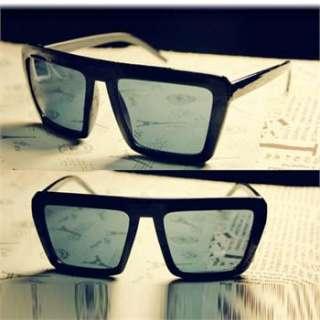 Fashion Man/Woman Cool Black Lens Multi Color Frame Glasses Retro