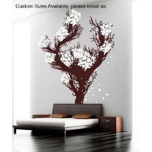 Vinyl Wall Decal Sticker Large Blossom Tree GFoster157B
