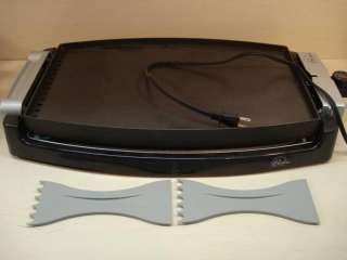 Bistro Collection Large 18 Electric Skillet Reversible Griddle