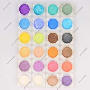 Bare Eyeshadow Pigment Minerals Makeup Lots Mixed Color HG24 1