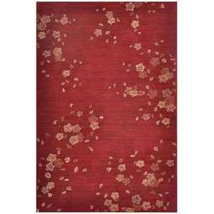 Royal Rugs Brio Cherry Blossom Red Rug Decor