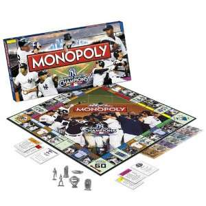 MONOPOLY New York Yankees World Series Champions Champions Collectors