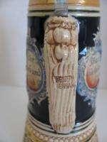 Lo 2 Wesern Germany Lidded Musical Seins DGBM Beer  