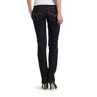 Levis 524 Dance Hall Denim Dark Blue Junior Straight Jeans 0050
