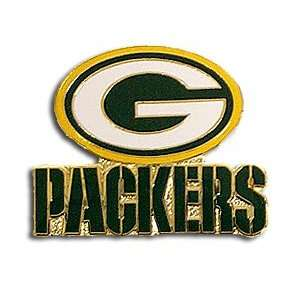 Green Bay Packers Logo Pin: Sports & Outdoors