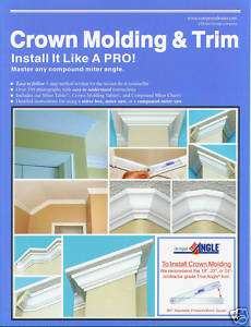 Best Crown Molding & Trim Book for a Compound Miter Saw