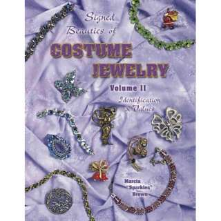 of Costume Jewelry Identification & Values, Brown, Marcia ARCHIVE