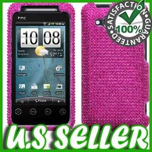 BLING HARD CASE FOR HTC EVO SHIFT 4G A7373 PROTECTOR SNAP ON COVER