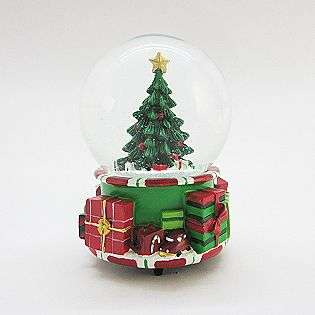 CHRISTMAS TREE SNOW GLOBE  Seasonal Christmas Collectibles