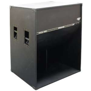 Watt Low Frequency Folded Horn Stage Enclosure   PPSW1801: Electronics