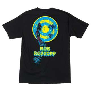 School Santa Cruz Skateboards Rob Roskopp 2 Hand Tee Shirt Phillips