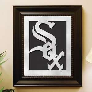 Chicago White Sox Framed Laser Cut Logo Wall Art  Sports