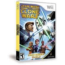 Star Wars Clone Wars Lightsaber Duels for Nintendo Wii   LucasArts