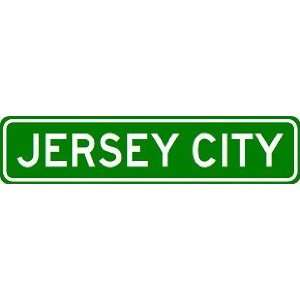 JERSEY CITY City Limit Sign   High Quality Aluminum