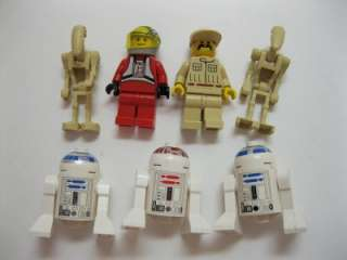 STAR WARS LEGO MINI FIGURES MANUALS 6835 7146 7166 7184 7180 7186 BIG