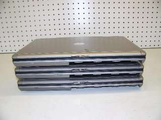 LOT OF 3) DELL LATITUDE D630 LAPTOP CORE 2 DUO   2.4GHz/ 1GB