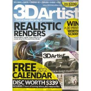 3D Artist Magazine (Issue 36 2012): Various: Books