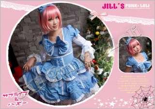 Sweet Loli Maid Barbie Doll princess Sarah dress F091 B