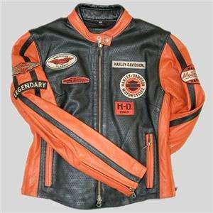 Harley Davidson Leather Jacket Whirlwind 98116 07VW Medium or XL