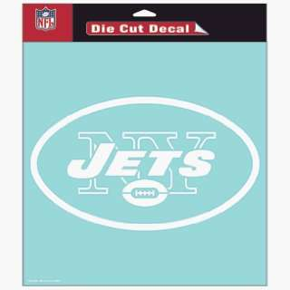 NFL New York Jets 8 X 8 Die Cut Decal