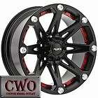 17 Black Ballistic Jester Wheels Rim 5x120 5 Lug BMW 5 6 7 8 Series S