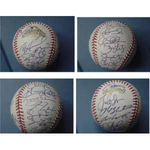 2008 Philadelphia Phillies Team Signed World Series