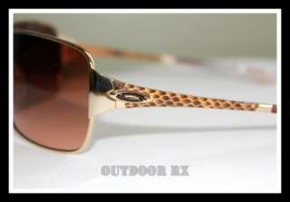 NEW OAKLEY IMPATIENT SUNGLASSES Polished Gold/VR50 Brown Gradient 05