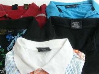 Lot of 5 Mens Big & Tall Urban Style Polo Shirts Size 3XL XXXL KANI