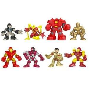 Iron Man Superhero Squad Battle Packs Wave 2 Set Toys