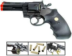 UHC Airsoft gun pistols Spring Revolver 4 4 inch blk