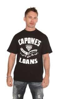 Cartel Ink Capones Loans Money Never Sleeps Shirt