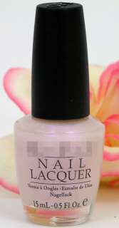 OPI Nail Polish Lacquer Altar Ego Pale Pink Opalescent Shimmer NEW