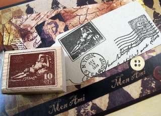 Decorative Stamps Rubber Stamp_Goya stamp