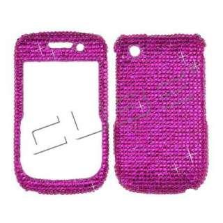 Hot PINK DIAMOND Rhinestone BLING Case 4 BlackBerry CURVE 8520 8530