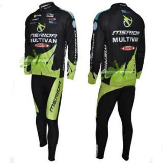 Black Outdoor Cycling Bike Bicycle Clothing Long Sleeve Sports Wear