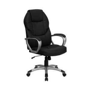 Flash Furniture Eco Friendly Black Leather Executive High