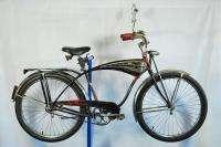1954 Schwinn Black Phantom balloon tire vintage cruiser bike bicycle