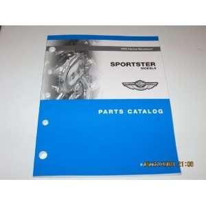 Sportster Models Parts Catalog Harley Davidson Motor Company Books