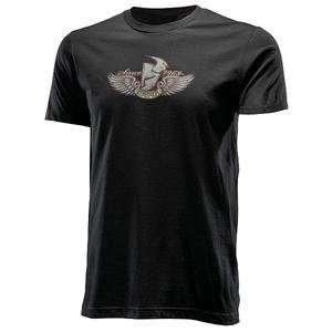 Thor Motocross Clyde T Shirt   Large/Black Automotive