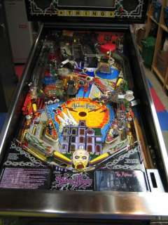 Addams Family Bally Pinball Machine 1992 Excellent Condition FREE