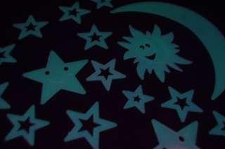 18 Piece Glow in the Dark Smile Stars & Suns 738435652968