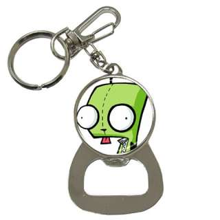INVADER ZIM GIR Bottle Opener Key Chain Metal Bar Beer