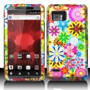 Spring Garden Hard Case Phone Protector Cover for Verizon Motorola