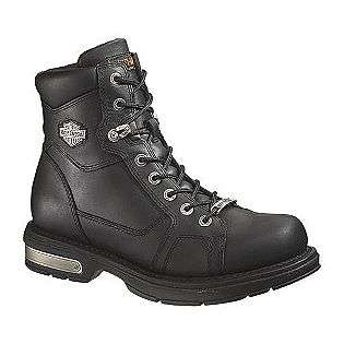 Boot #94231 Black Leather  Harley Davidson Shoes Mens Work & Safety