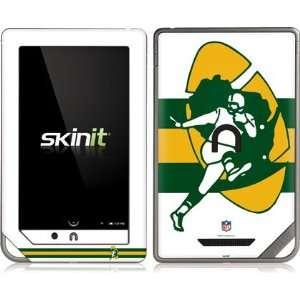 Green Bay Packers Retro Logo Flag Vinyl Skin for Nook Color / Nook
