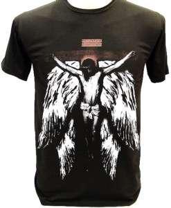 Jesus Christ CROSS & WINGS Guns N Roses T Shirt Axl S
